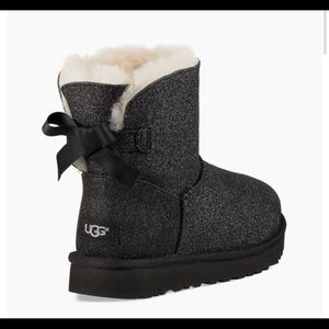 Mini Bailey Bow Sparkle Uggs
